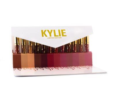 Набор из 12 помад Kylie в подарочном конверте , фото 1