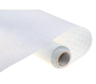Пленка самоклеящаяся, 0.45 х 3 м, 50 мкм, прозрачная глянцевая, фото 1