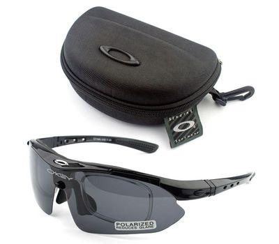 Тактические очки Oakley 4 линзы с поляризацией +1 линза с фильтром UV400 , фото 2