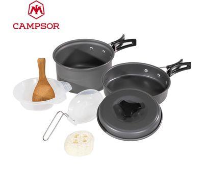 Набор кемпинговой посуды «Campsor» 8 предметов, фото 1