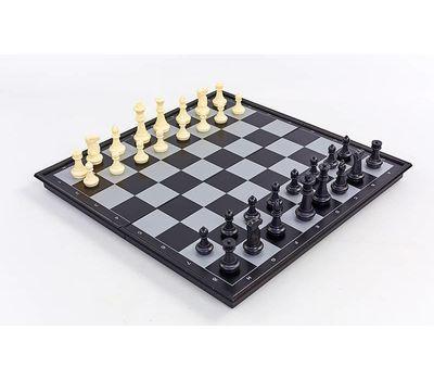 Настольная игра 3 в 1 магнитные (шахматы, шашки, нарды), фото 1