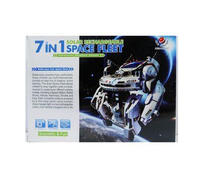 """Конструктор на солнечных батарейках """" Космический флот"""" 7 в 1 модель 2117, фото 1"""