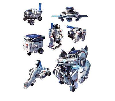 """Конструктор на солнечных батарейках """" Космический флот"""" 7 в 1 модель 2117, фото 2"""