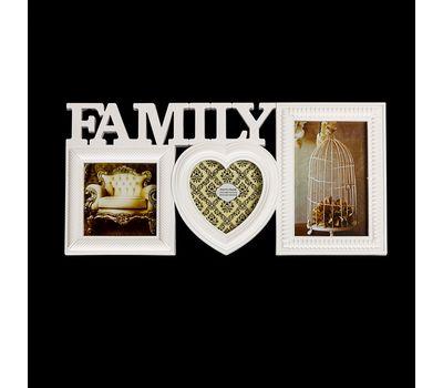 "Фоторамка сложная на 3 фото ""Family"", фото 1"
