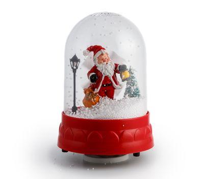 """Снежный шар механический """"Дед Мороз"""", фото 1"""