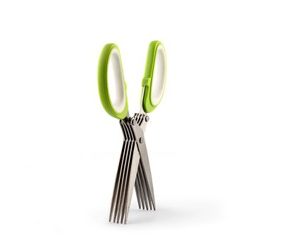 Ножницы для нарезки зелени с 5-ю лезвиями Scissor, фото 3