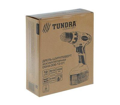 Дрель-шуруповерт TUNDRA comfort аккумуляторный, фото 1