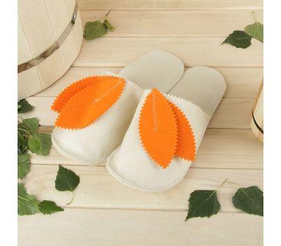 Тапочки для бани и сауны «Колокольчик», фото 1