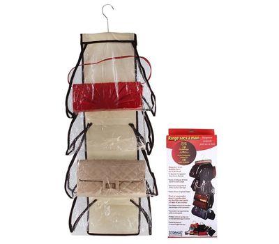 Органайзер для хранения сумок на вешалке, 8 отделений, фото 1