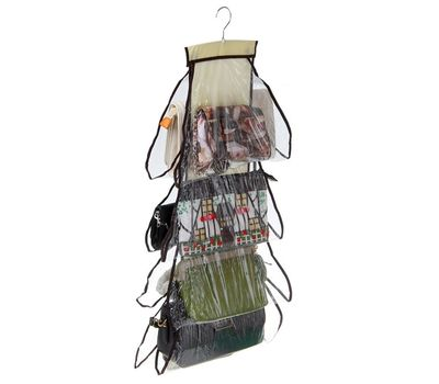 Органайзер для хранения сумок на вешалке, 8 отделений, фото 2