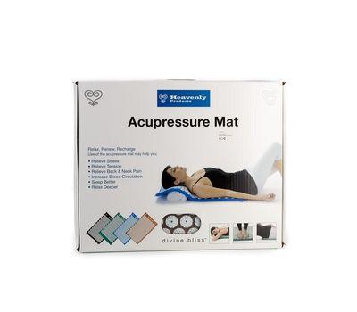 Ортопедический массажный коврик-аппликатор Acupressure Mat, фото 1