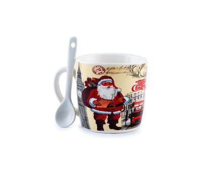 """Подарочный набор """"Merry Cristmas""""(кружка+ложка), фото 1"""