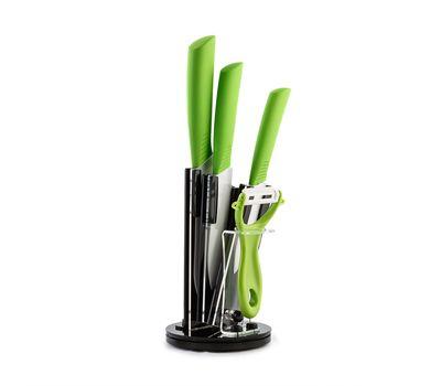 Набор керамических ножей на подставке, фото 1