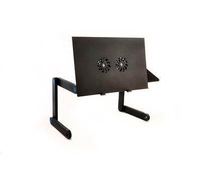 Столик - трансформер для ноутбука с охлаждением Laptop Table T8, фото 4
