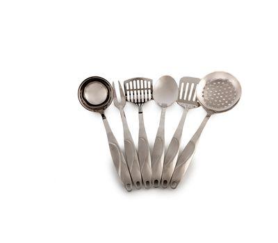 Набор из 6 кухонных предметов на металлической подставке VICALLINA, фото 3