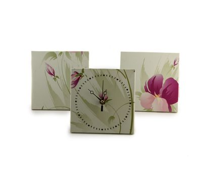 Декоративные часы с двумя рамками, фото 4