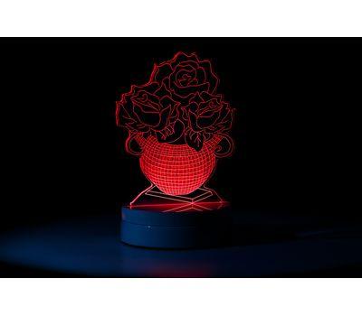 Настольный 3D LED светильник (ночник), фото 1