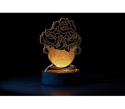 Настольный 3D LED светильник (ночник), фото 5