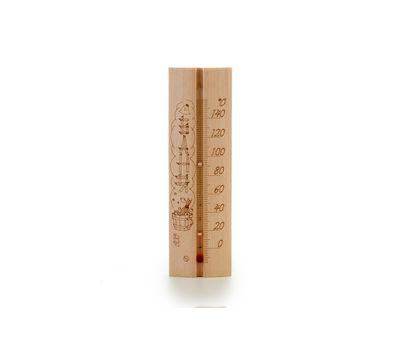 Деревянный термометр для бани и сауны «Эко-сауна», фото 1