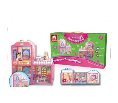 Игровой набор «Игрушки для подружки» - Уютная квартирка, фото 1