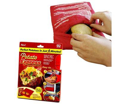 Мешочек для запекания картофеля в микроволновой печи Potato Express, фото 1