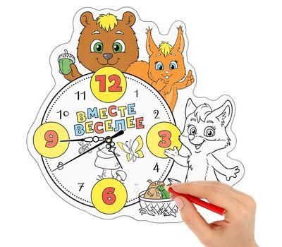 """Часы-раскраска """"Вместе веселее"""", фото 1"""