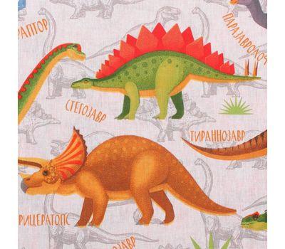 Комплект детского постельного белья из бязи «Динозаврики», фото 5