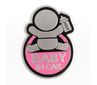 Наклейка декоративная на автомобиль «Baby in car», фото 2
