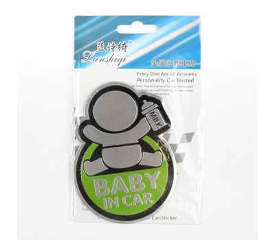 Наклейка декоративная на автомобиль «Baby in car», фото 4