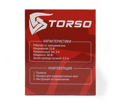 Пылесос автомобильный TORSO, 60 Вт, 12 В, фото 4