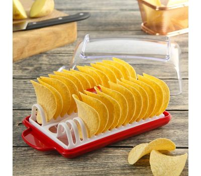"""Слайсер для чипсов """"Фила"""", с формой для приготовления в СВЧ, фото 3"""