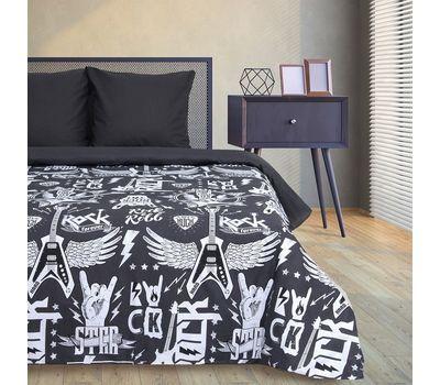 Двуспальный набор постельного белья из бязи «Rock&Roll», фото 2