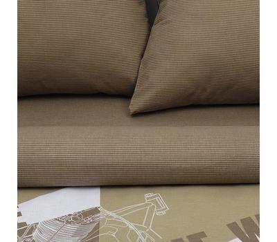 Двуспальный набор постельного белья из бязи «Механика», фото 3