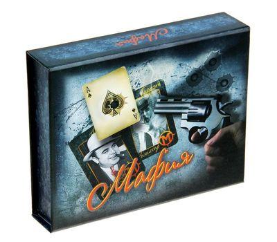 """Игра сюжетная ролевая """"Мафия"""" в подарочной коробке, фото 1"""