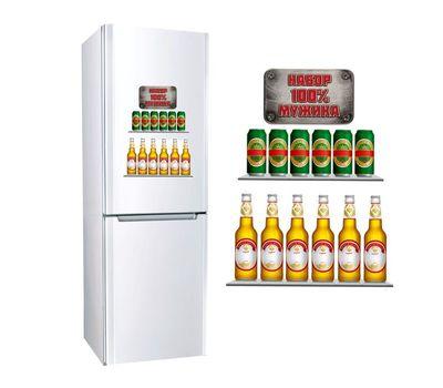 Наклейка для холодильника, фото 4
