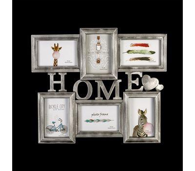 """Фоторамка на 6 фотографий """"Home"""", фото 1"""