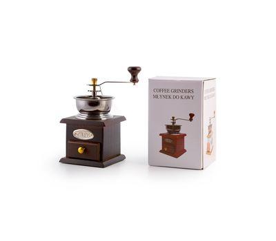 Ручная деревянная кофемолка, фото 2