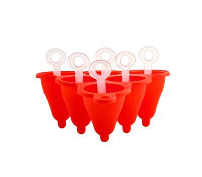Силиконовая форма для фруктового льда и мороженого, фото 5