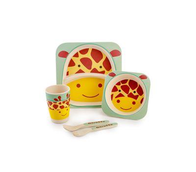 Набор детской посуды из бамбука «Bamboo Kids Set», фото 6