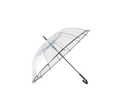 Зонт прозрачный трость, фото 4