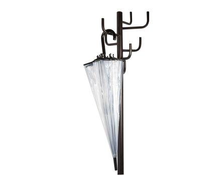Зонт прозрачный трость, фото 3