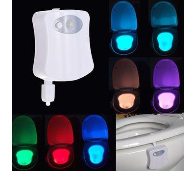 LED Подсветка для унитаза с датчиком движения и освещение туалета, фото 1