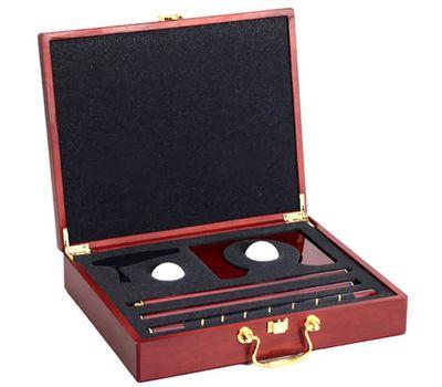Подарочный набор для гольфа в деревянном кейсе, фото 5