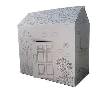 Картонный домик-раскраска+Подарок, фото 2