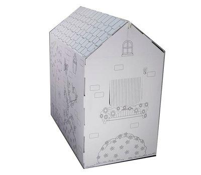 Картонный домик-раскраска+Подарок, фото 3