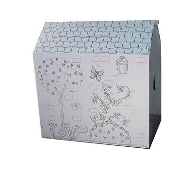 Картонный домик-раскраска+Подарок, фото 1