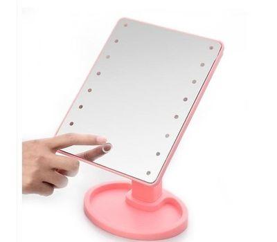 Косметическое зеркало для макияжа с LED подсветкой, фото 1