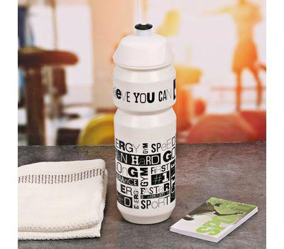 Полезный набор для фитнеса (бутылка для воды, полотенце, блокнот), фото 3