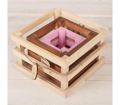 Набор из 3-х деревянных ящиков для цветов «Летай от счастья», фото 1