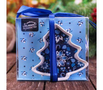 Набор кружка 350 мл, подставка под чайный пакетик «С Новым годом», фото 5